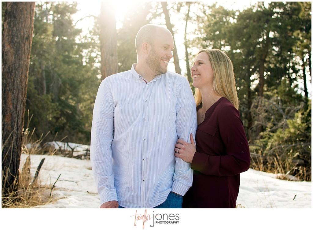 Conifer Colorado mountain wedding photographer at Meyer Ranch