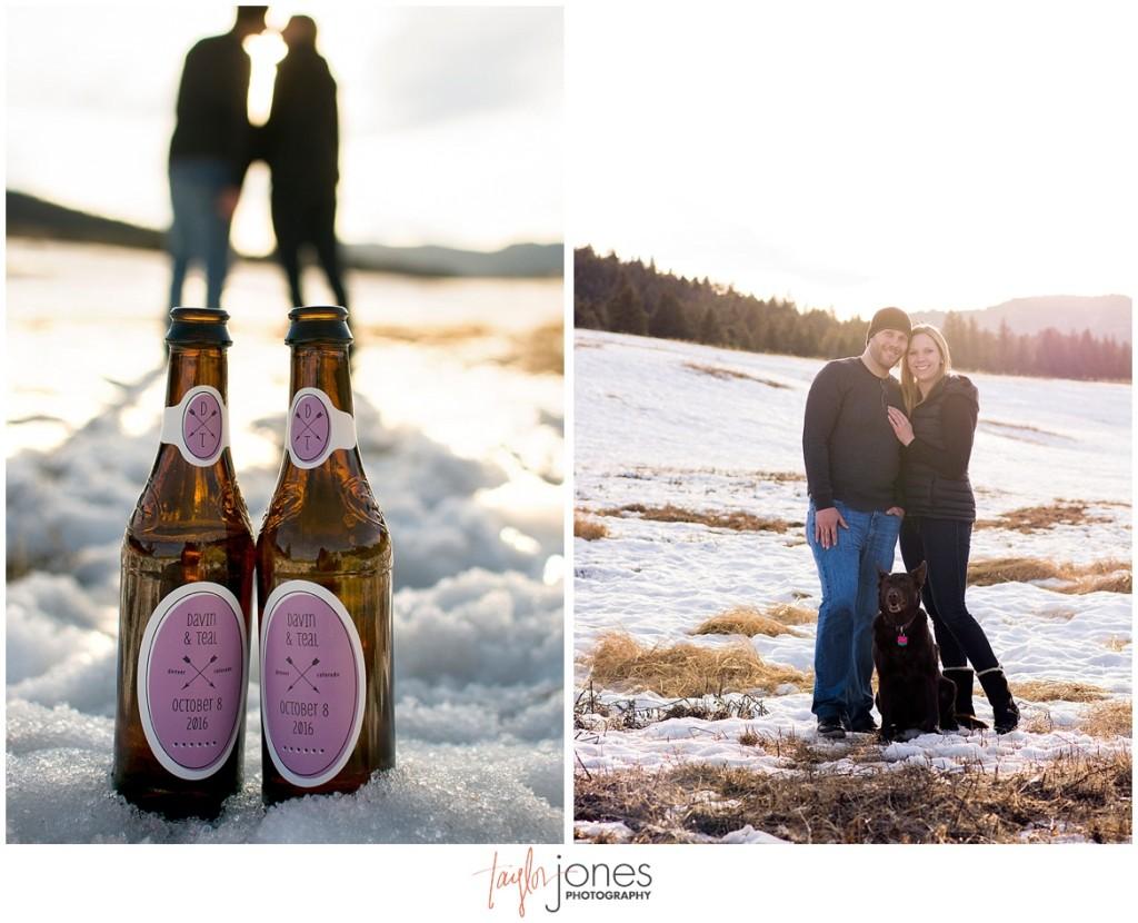 Colorado mountain wedding photographer at Meyer Ranch