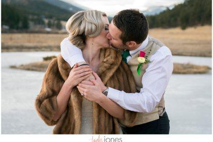 Colorado winter wedding photographer