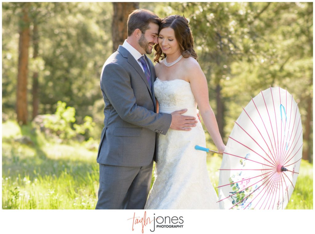 Colorado wedding photographer Genesee Colorado mountain wedding