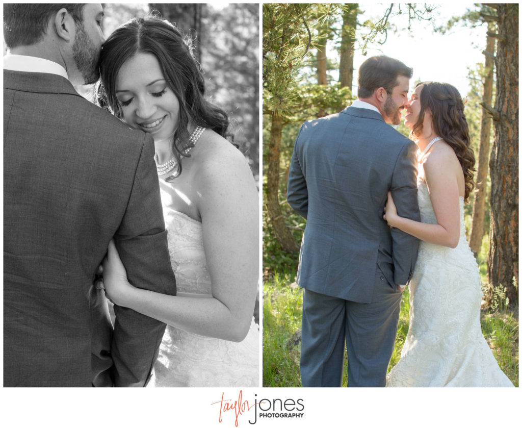 Genesee mountain wedding photographer