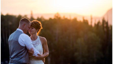 Telluride Colorado mountain wedding photographer