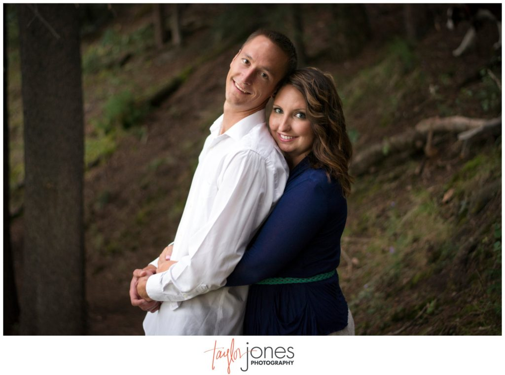 Conifer and Evergreen Colorado engagement shoot photographer