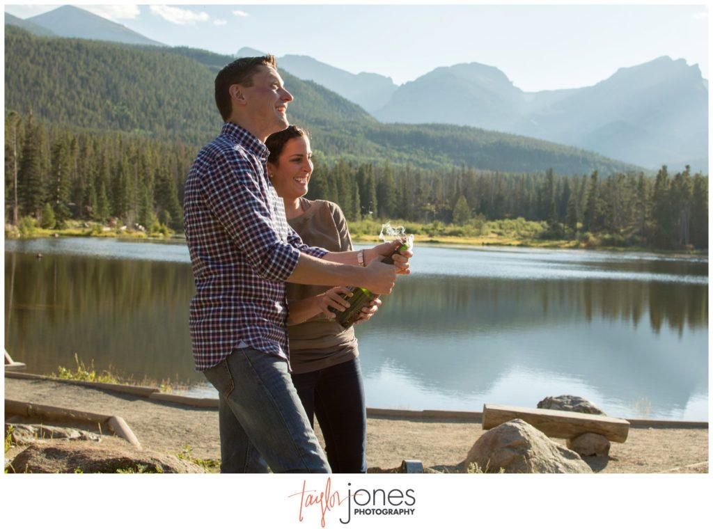 Sprague Lake Rocky Mountain National Park photo shoot