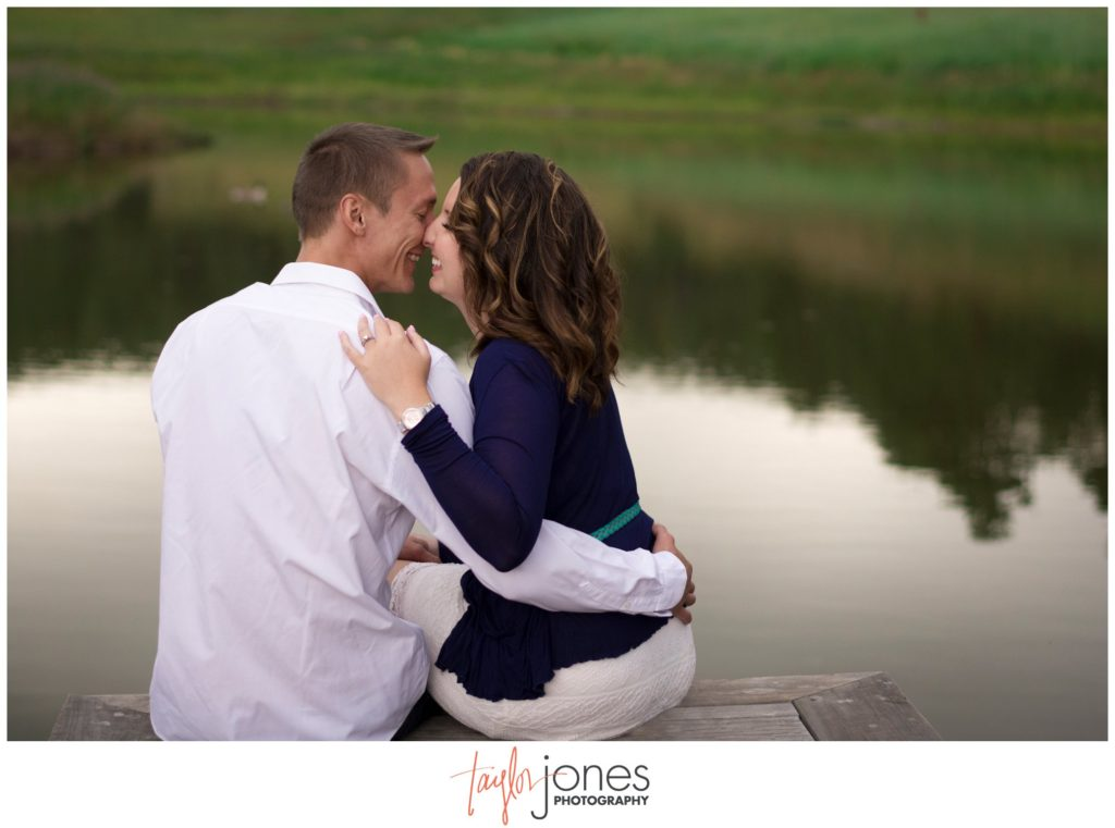 Conifer engagement shoot photographer