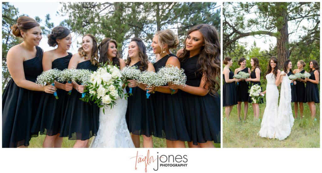 Colorado wedding photographer Cielo at Castle Pines wedding