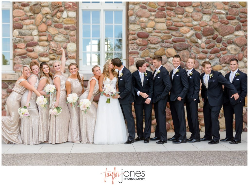 Colorado wedding photographer at Highlands Ranch Mansion wedding