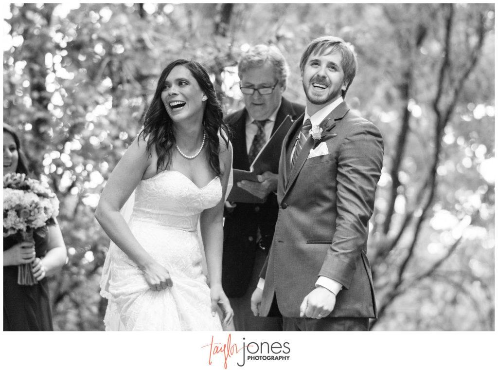 Pines at Genesee wedding ceremony photographer