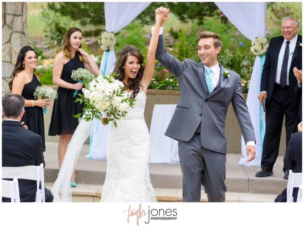 Cielo at Castle Pines wedding ceremony Colorado wedding photographer