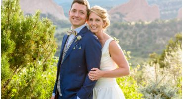 Garden of the Gods Colorado Springs wedding photographer