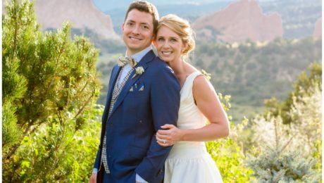 Garden of the Gods Colorado Springs wedding photographer