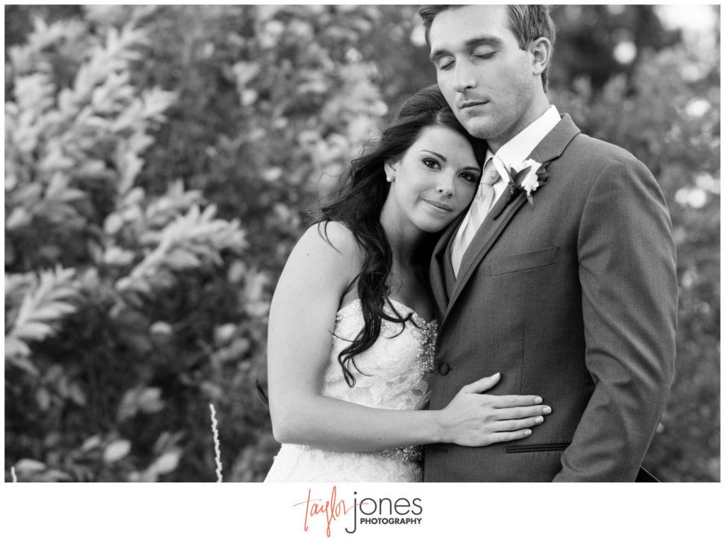 Bride at Cielo at castle pines wedding