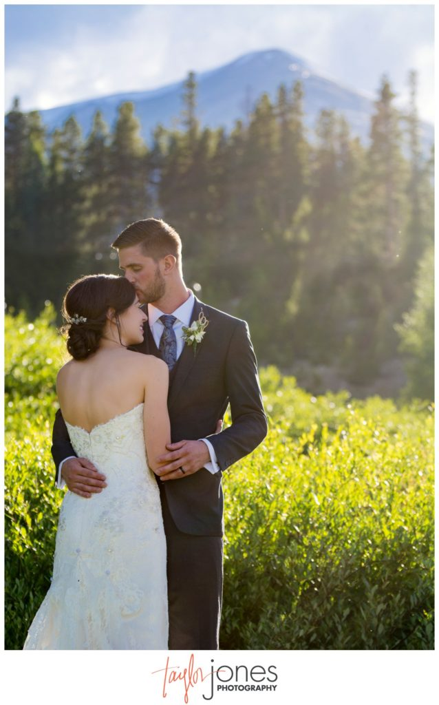 Breckenridge Colorado mountain wedding photographer
