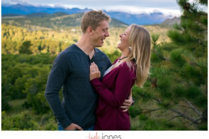 Westcliffe Colorado fall engagement shoot photographer