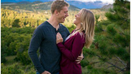 Westcliffe Colorado fall engagement shoot photographer