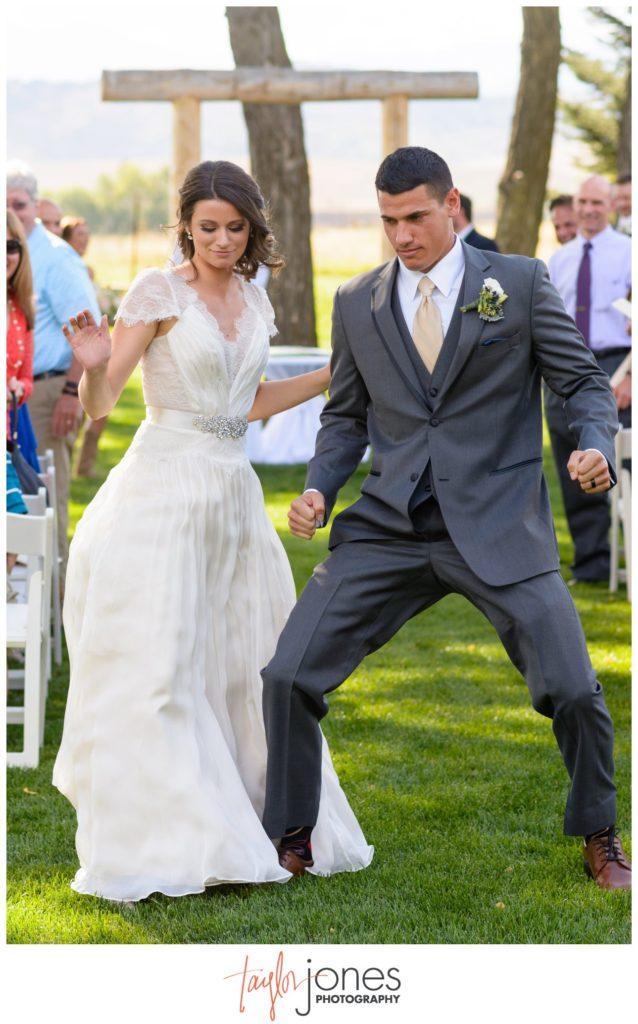 Colorado wedding photographer Longmont Colorado Shupe Homestead ceremony