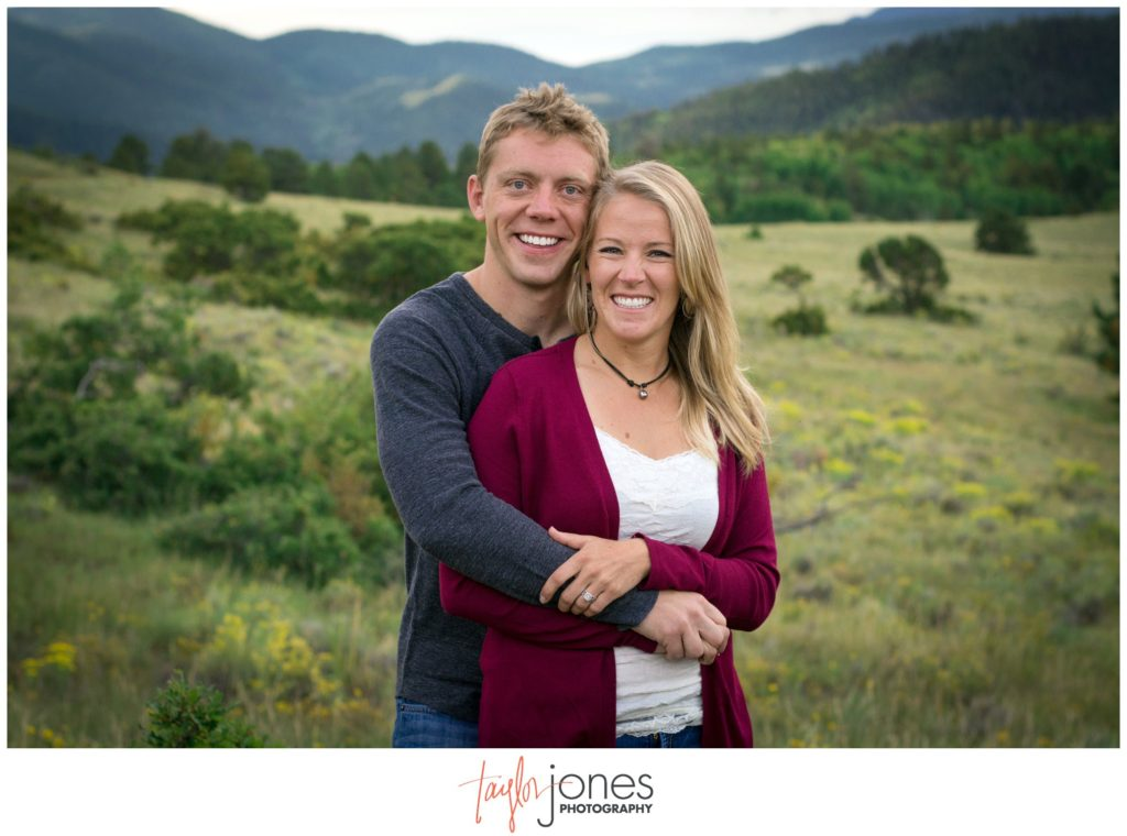 Fall engagement shoot Westcliffe Colorado photographer