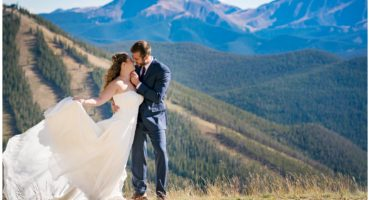 Dillon Colorado wedding photographer Keystone