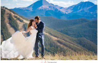 Dillon Colorado wedding photographer Keystone