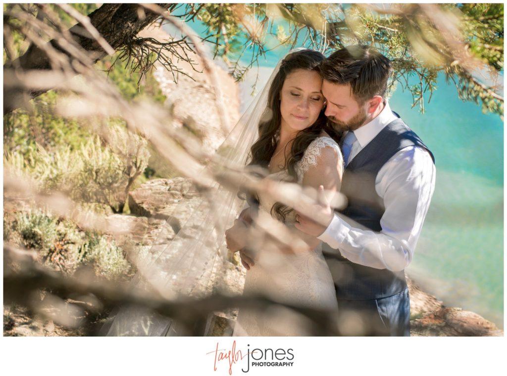 Ridgeway State Park wedding ceremony photographer