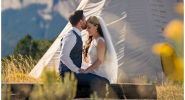 Ouray Colorado mountain wedding photographer the Secret Garden wedding
