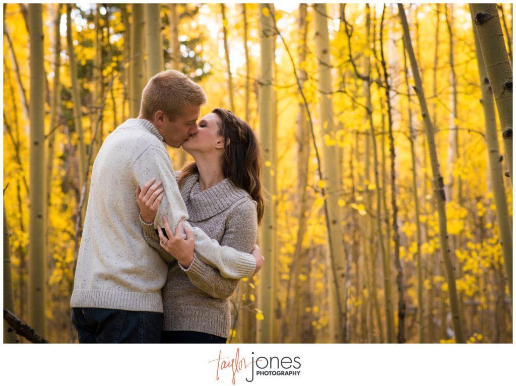 Kenosha Pass engagement shoot Colorado photographer