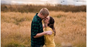 Fall engagement shoot in Colorado at Kenosha Pass engagement photographer
