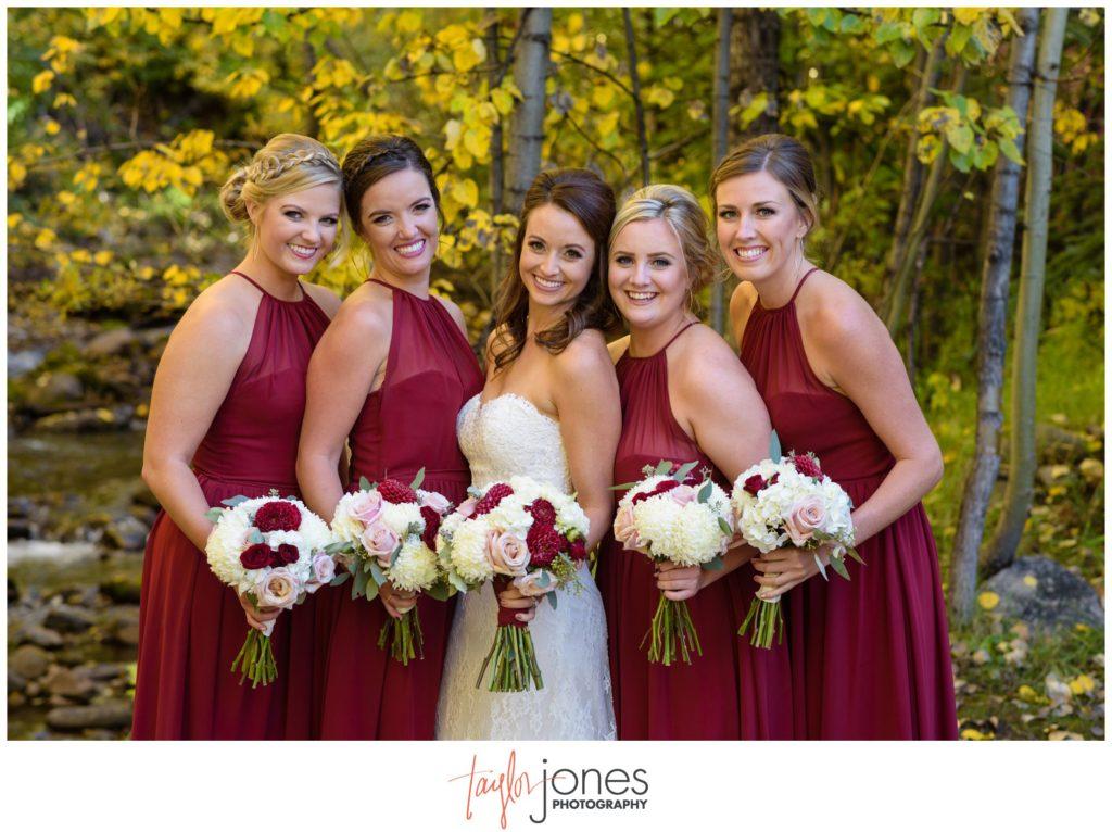 Vail Colorado fall wedding photographer