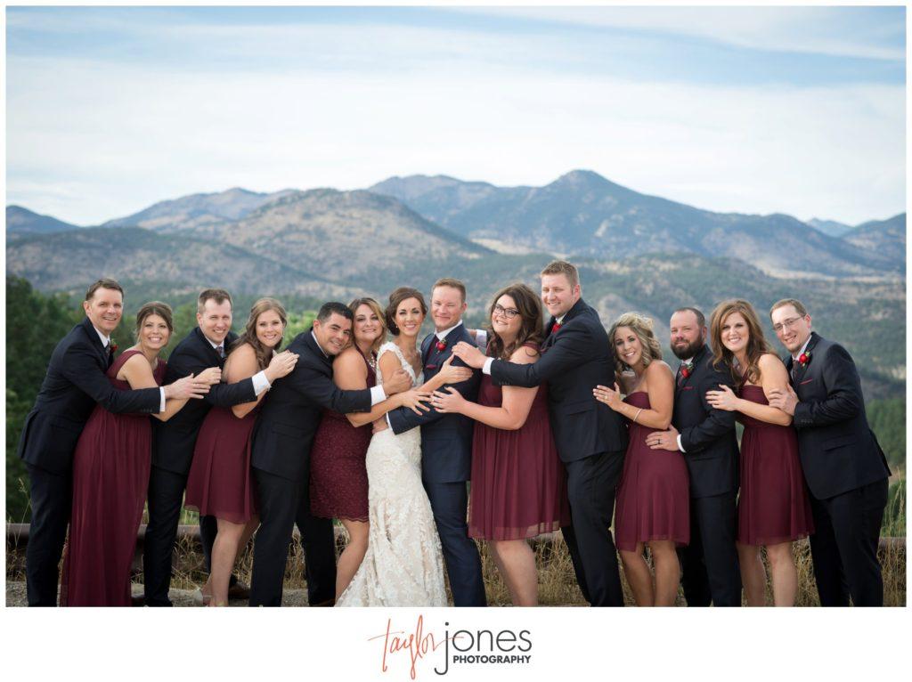 Colorado wedding photographer at the Pines at Genesee