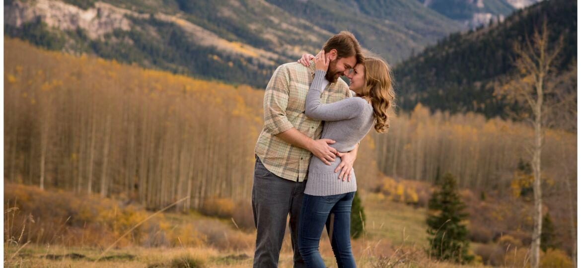Ouray Colorado engagement and wedding photographer