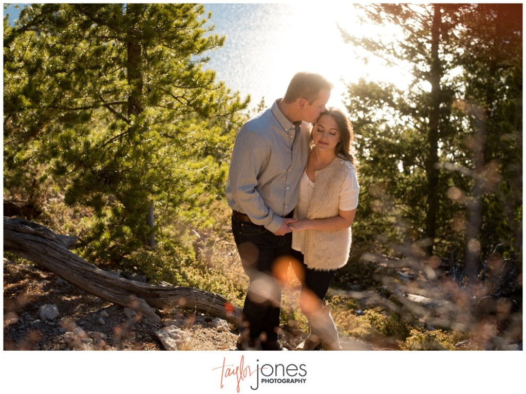 Engagement shoot photographer at Sapphire Point Breckenridge Colorado