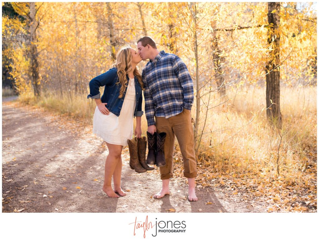 Morrison Colorado engagement shoot