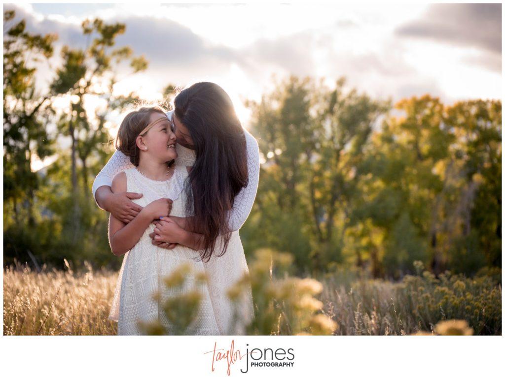 Salida Colorado photographer at ranch family portraits