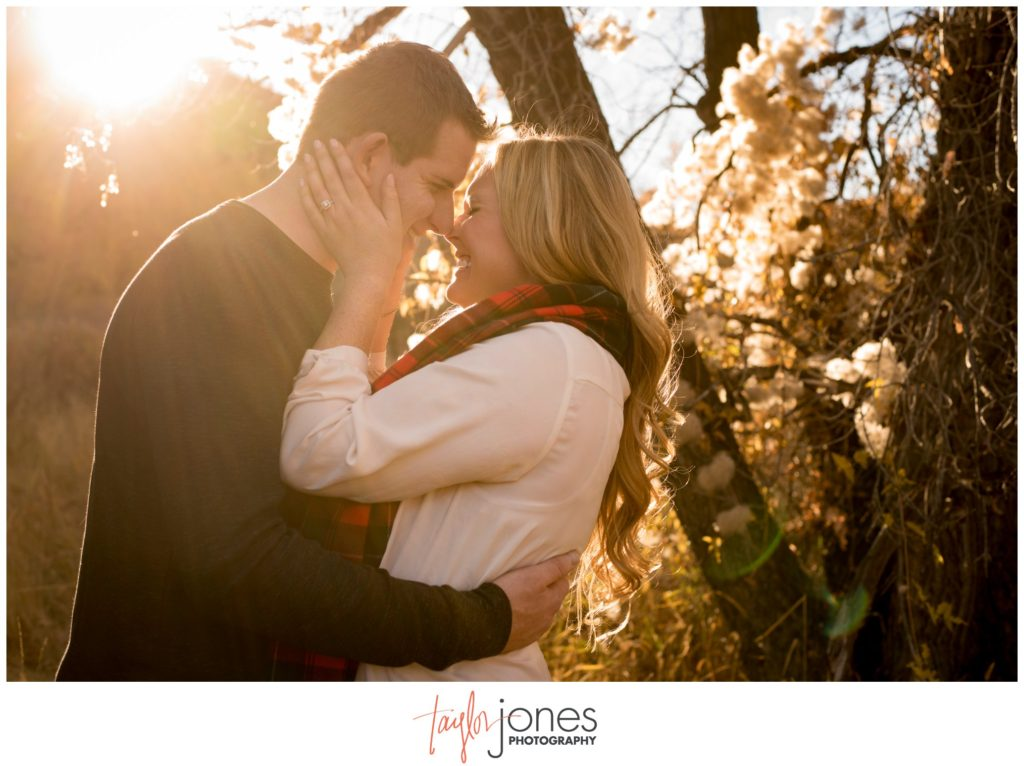 Morrison Colorado fall engagement shoot