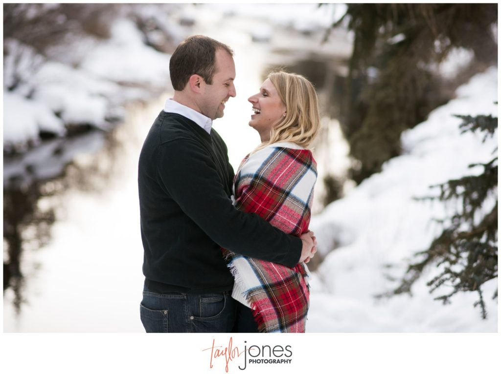 Vail Colorado winter engagement and wedding photographer