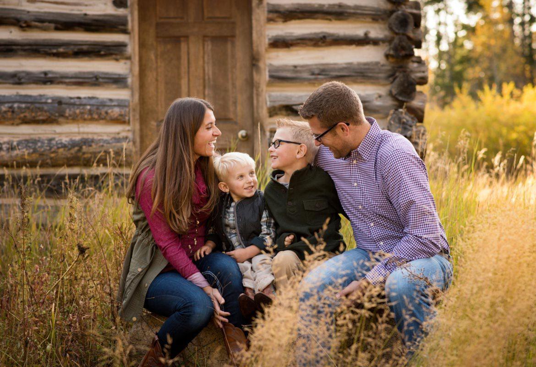 Conifer Colorado family photographer