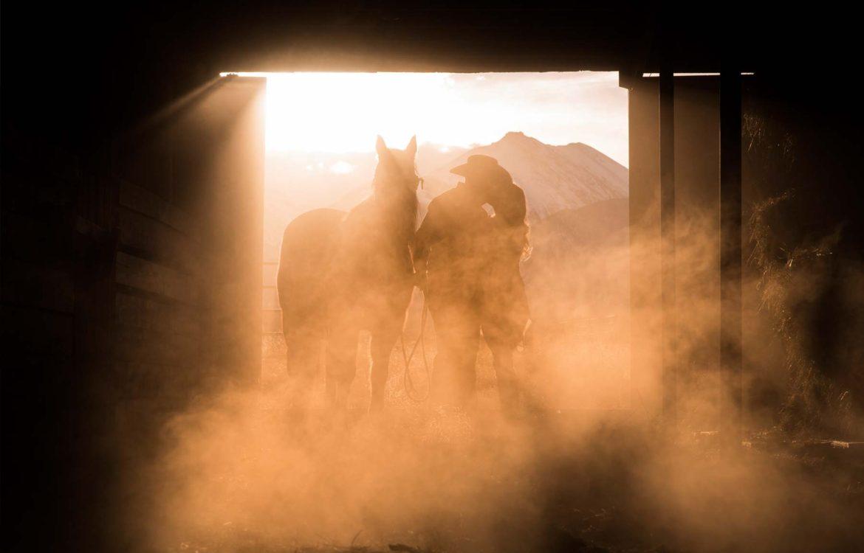 Nathrop Colorado ranch engagement shoot