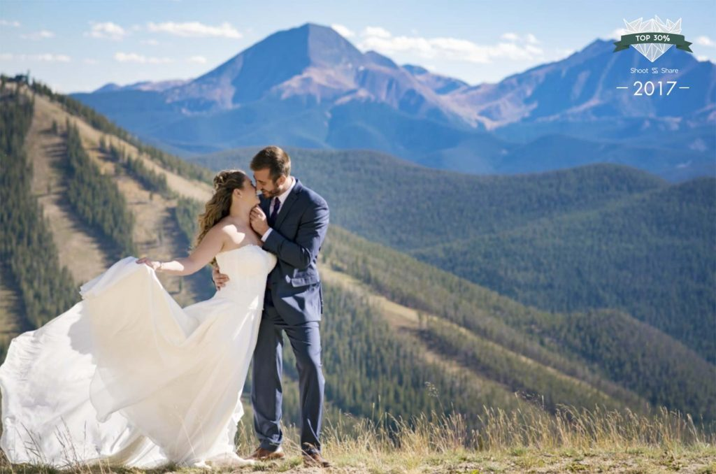 Summit County Keystone wedding photographer