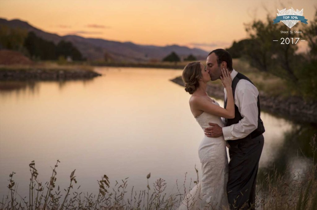 Colorado wedding photographer at Arrowhead Golf Course