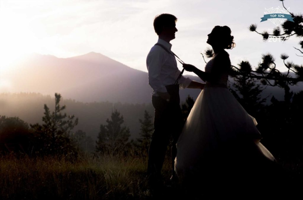 Estes Park wedding photographer at the YMCA of the Rockies