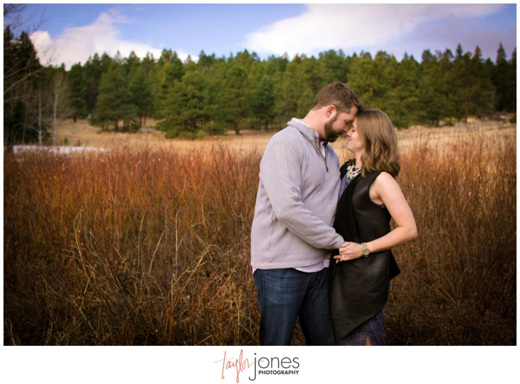 Colorado engagement and wedding photographer in Evergreen