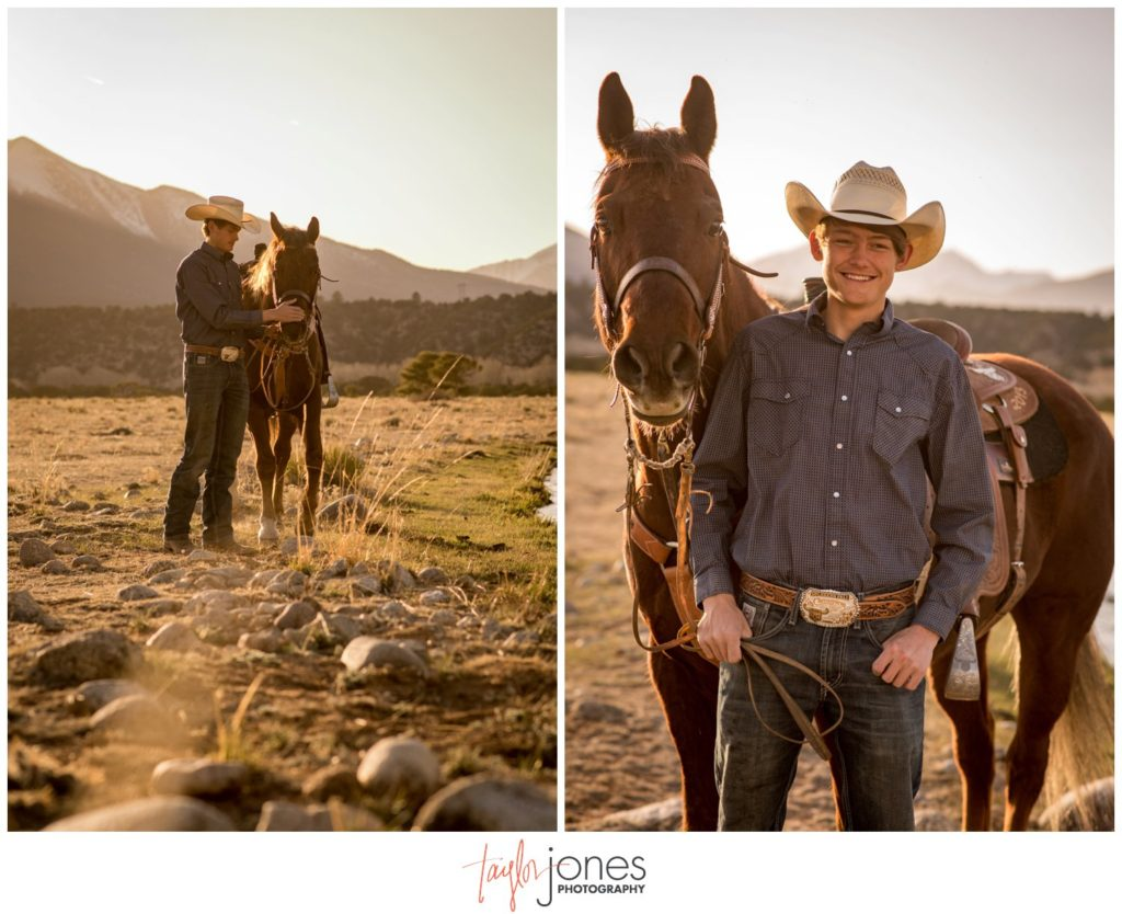 Buena Vista Colorado Senior Portrait Photographer