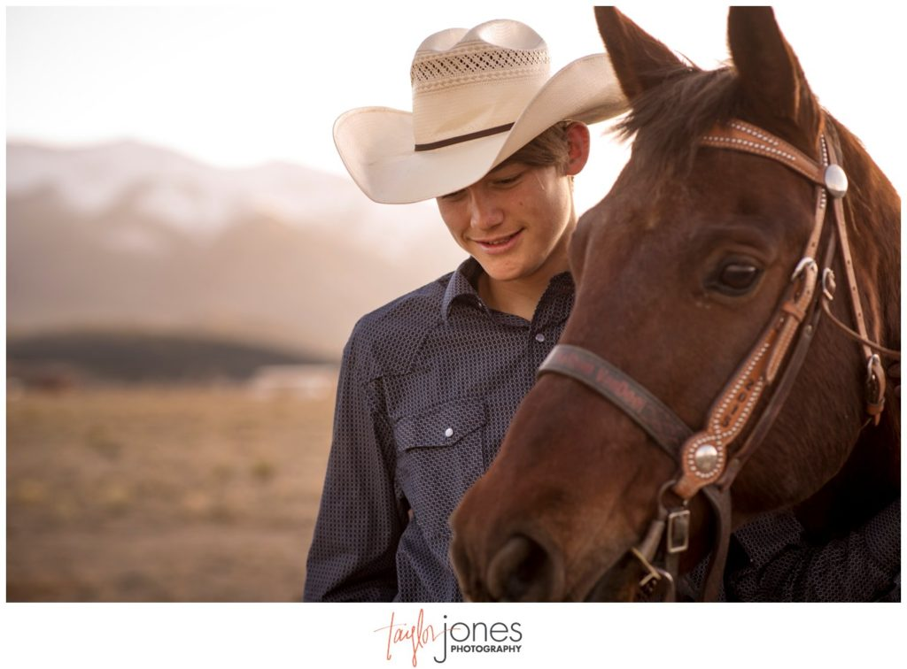 Buena Vista Colorado Senior Portrait Photographer for Nathan