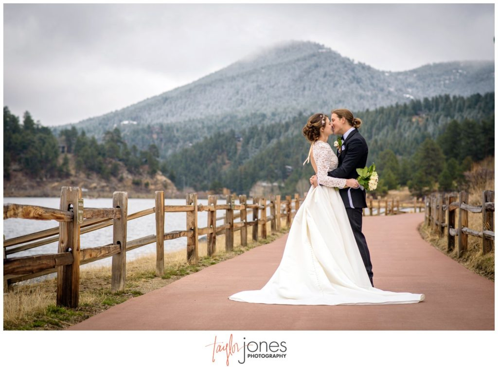 Evergreen Colorado wedding photographer