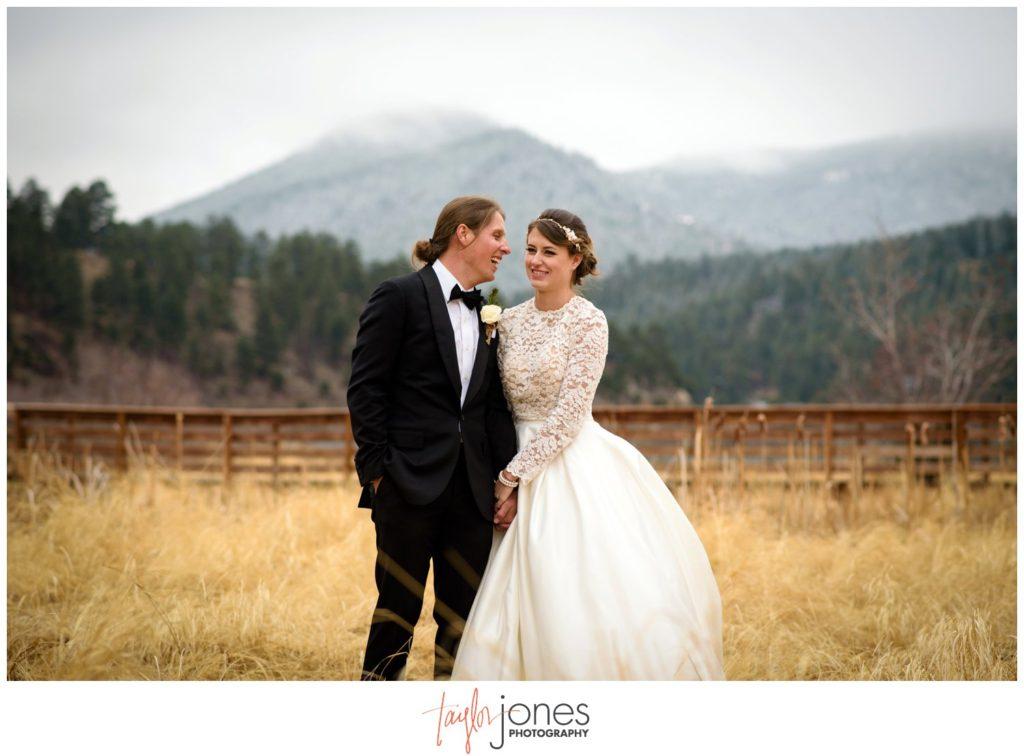 Evergreen Lake House wedding of Zach and Mahala Smith