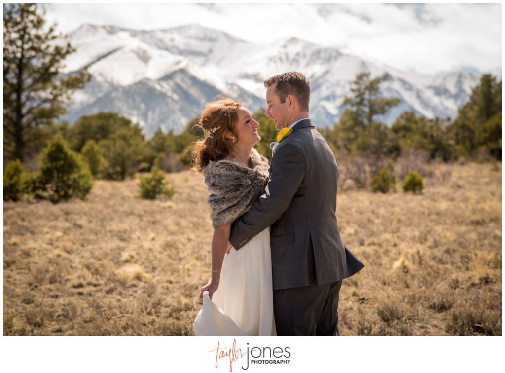 Mount Princeton resort wedding Colorado