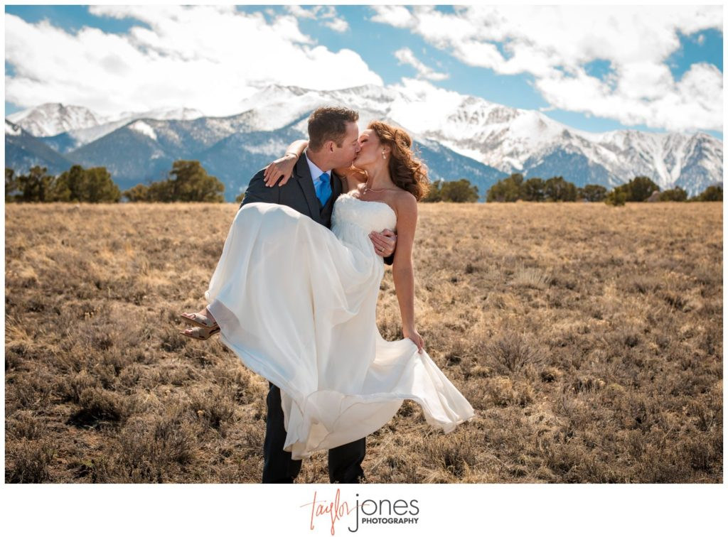 Mount Princeton Colorado wedding photographer