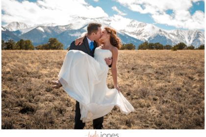 Mount Princeton Colorado wedding photographer