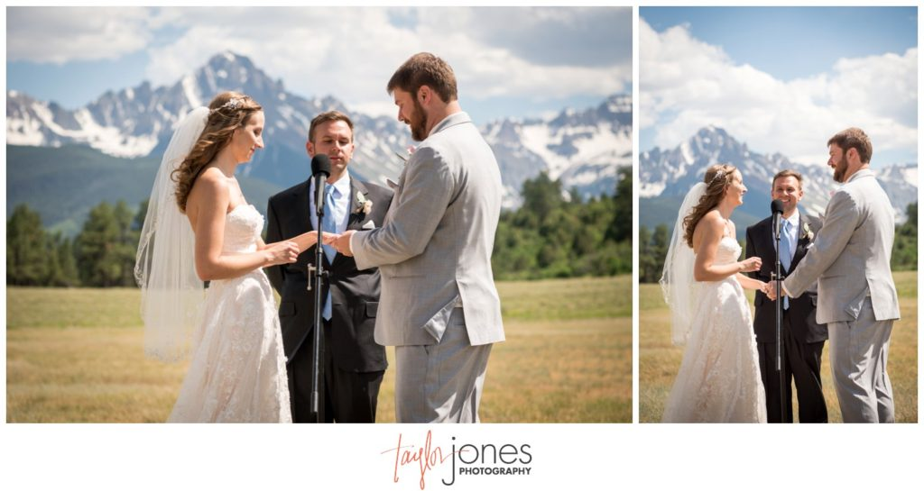 Top of the Pines Ridgeway Colorado Wedding photographer