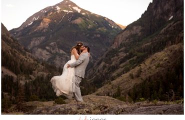 Ouray Colorado wedding photographer Beaumont Hotel Ouray Colorado